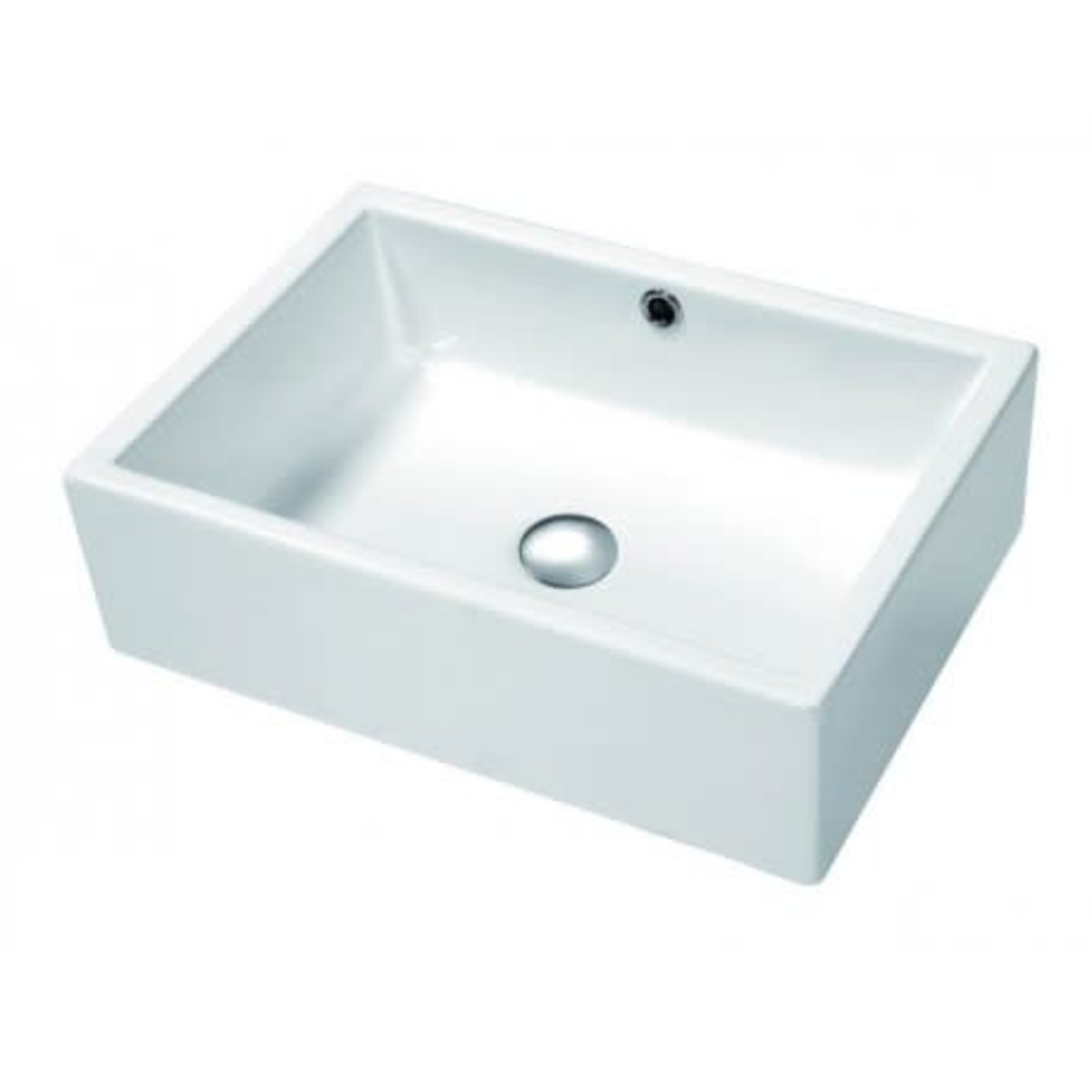 20 '' white porcelain sink DI-104