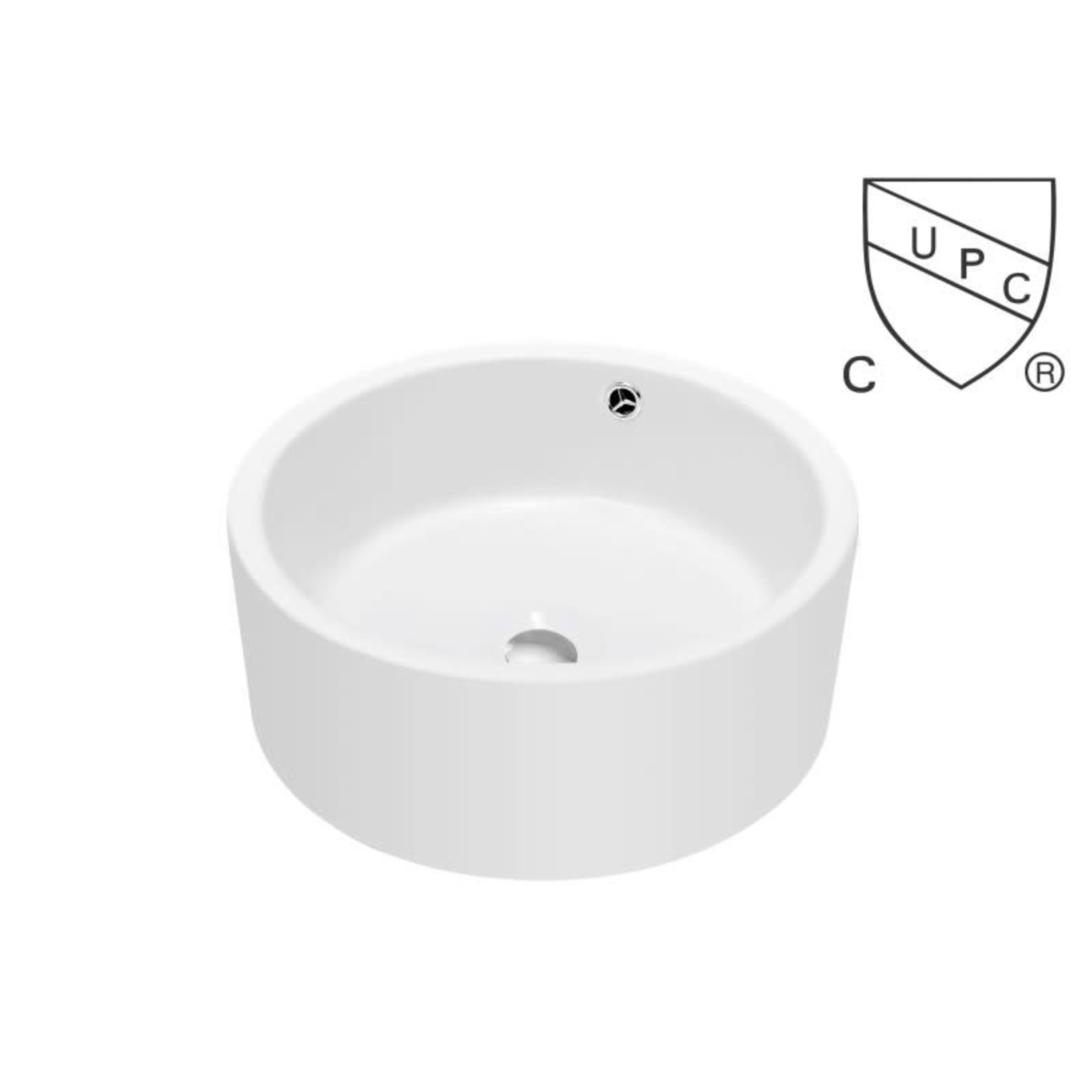 White porcelain basin DI-134537