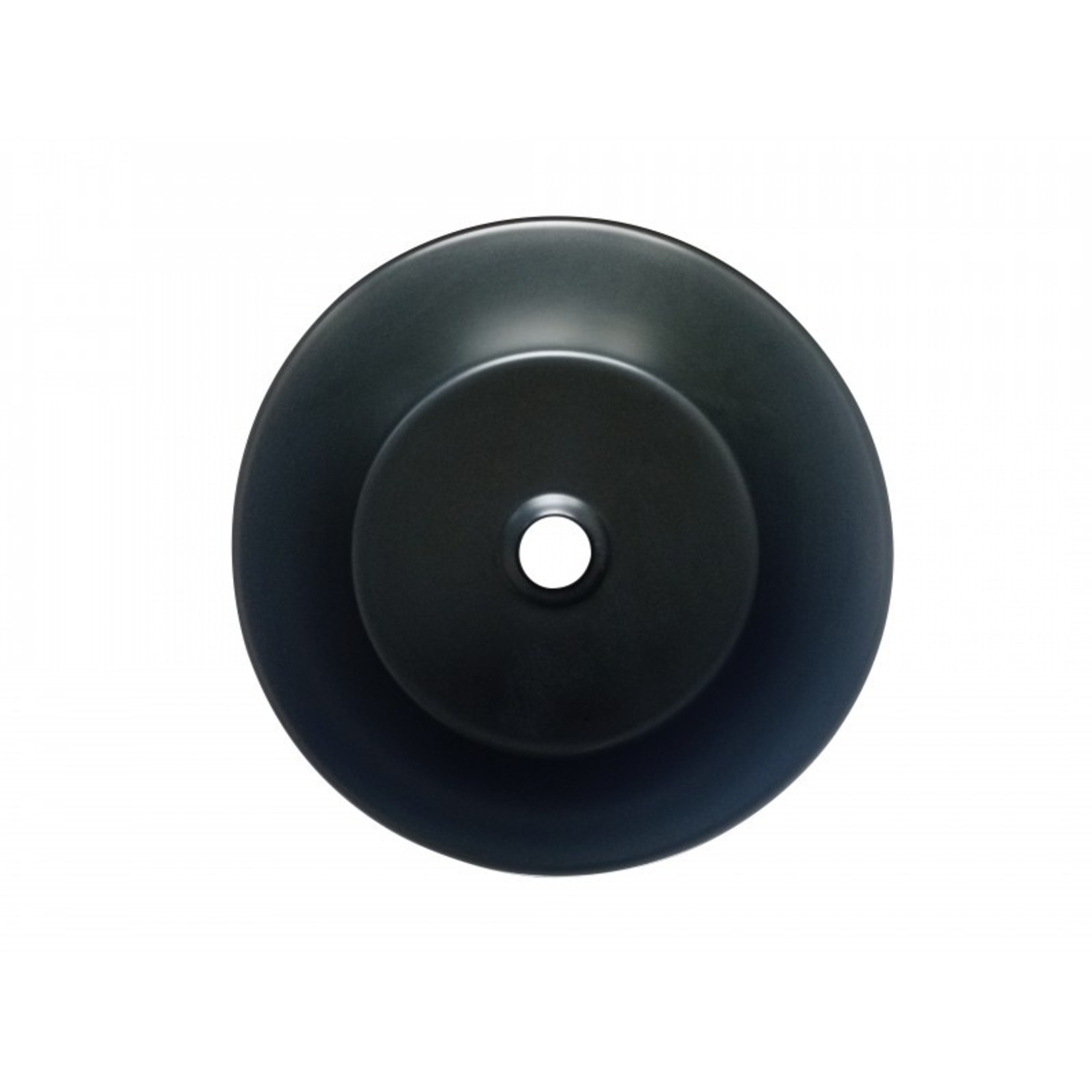 14 '' black porcelain sink DI-206-35B