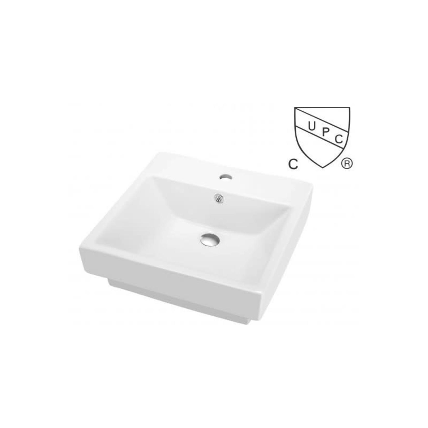 Porcelain washbasin S-300