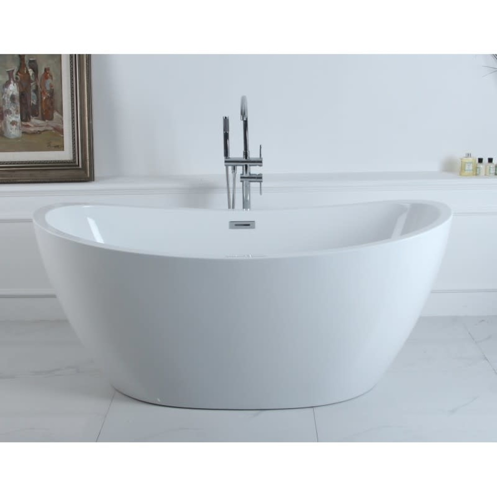 Amon 67 '' freestanding bathtub white DI-02588