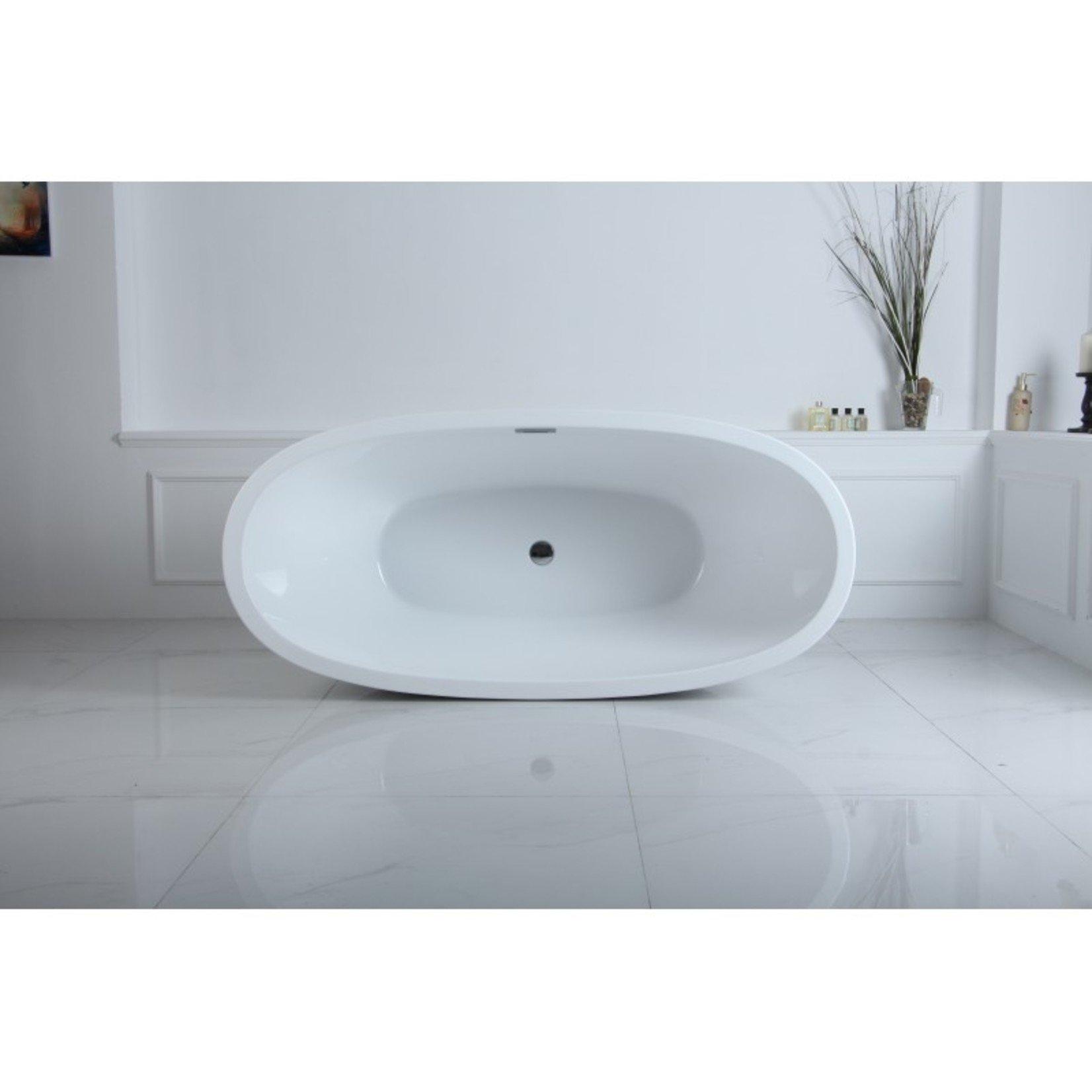 Amon 67 '' freestanding bathtub white DI-02588