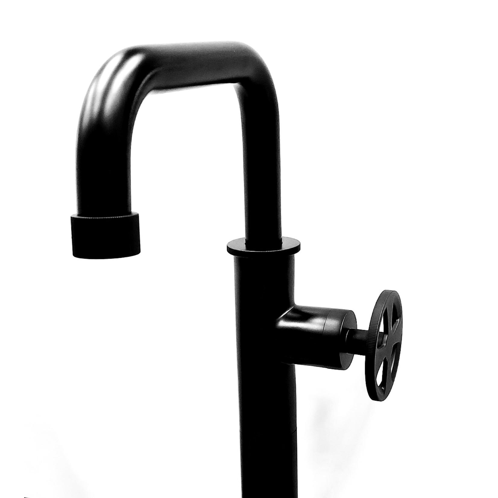 Matte black lavatory faucet NRD-89-1102-MB