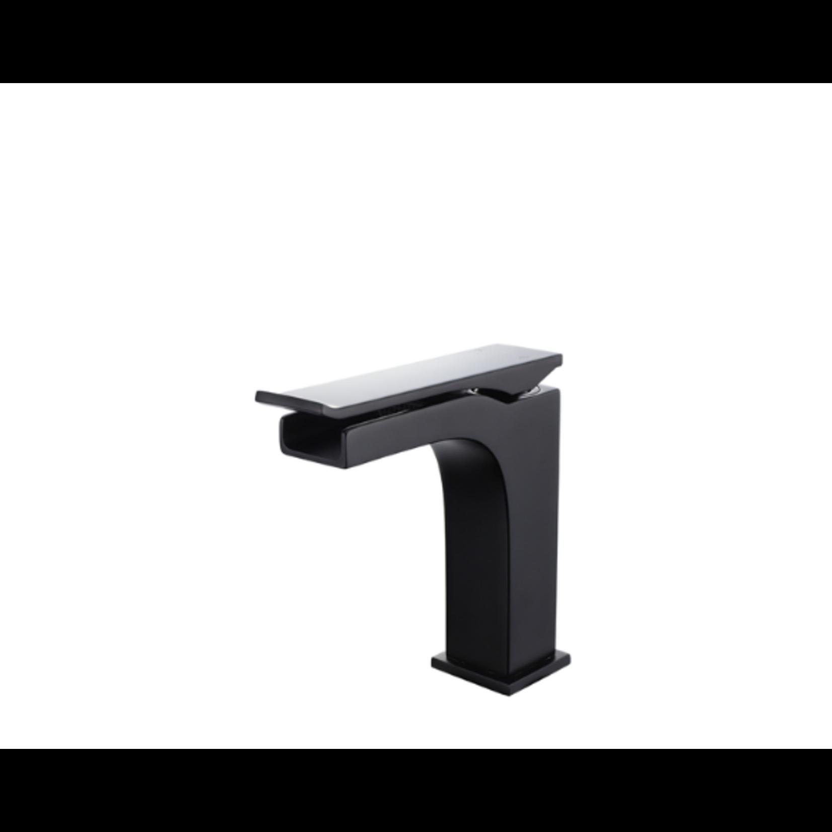 Matte black lavatory faucet NRD-981001-MB