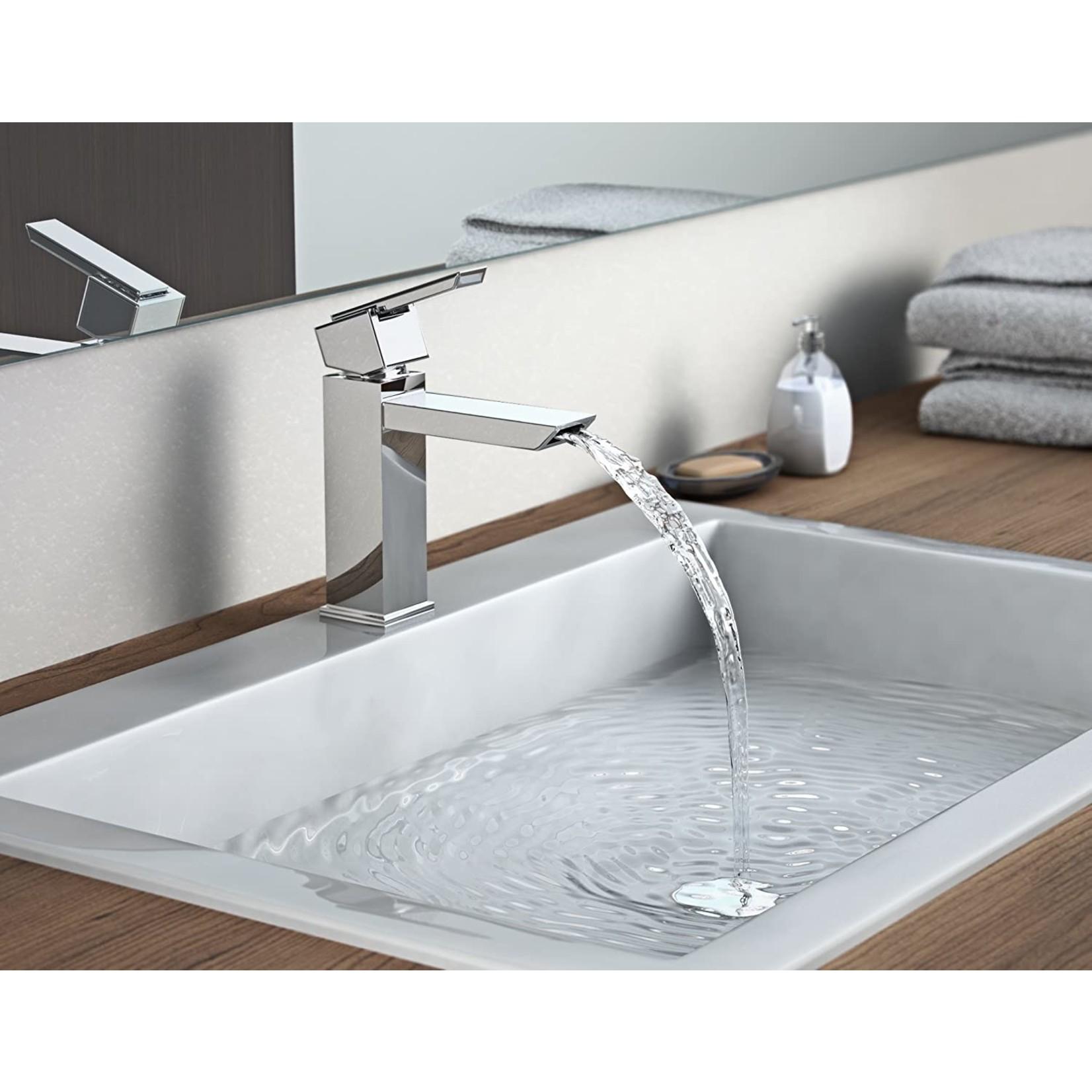 Artika Oblique Chrome faucet + Pop Up plate included