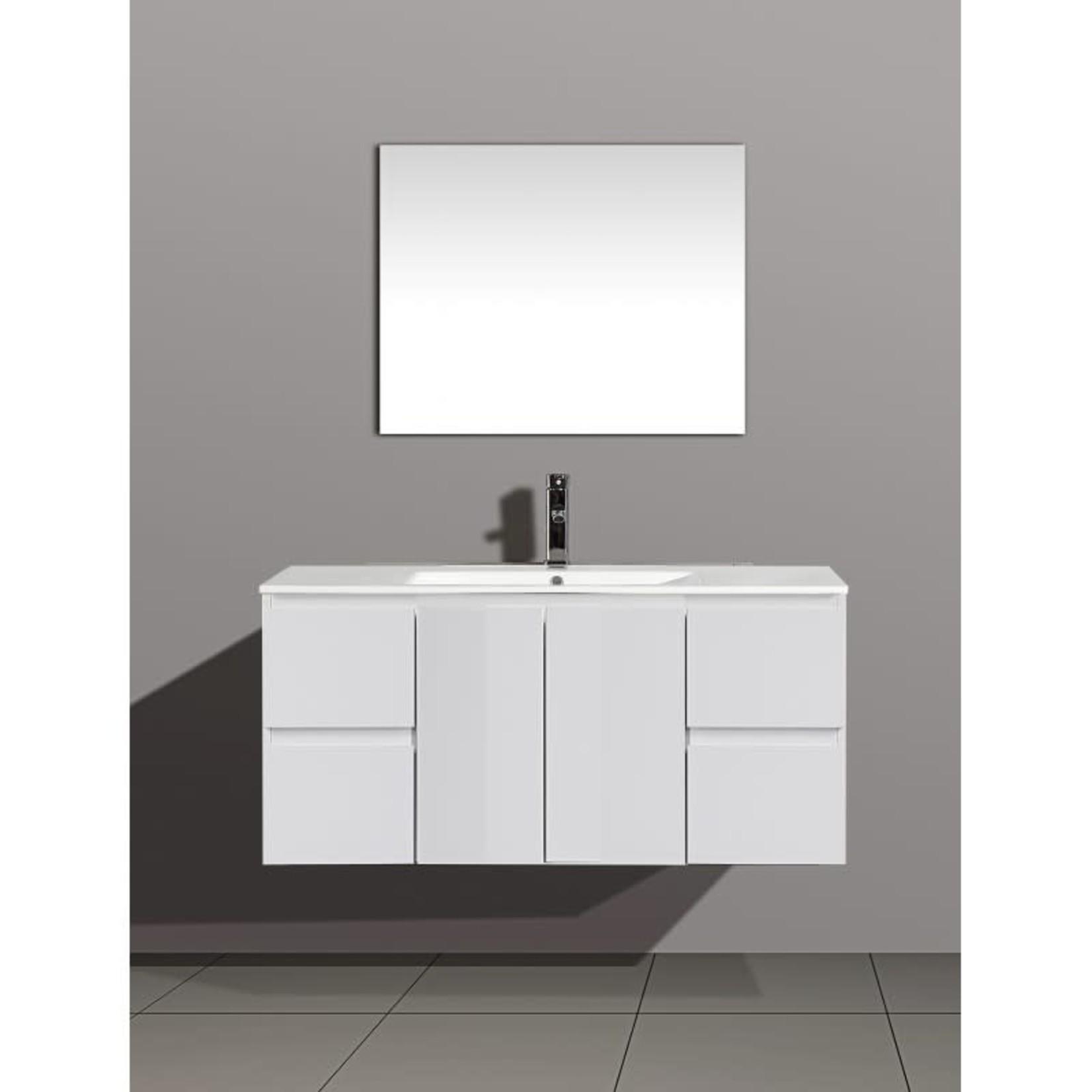 White Floating Vanity Everest 48 '' 31120