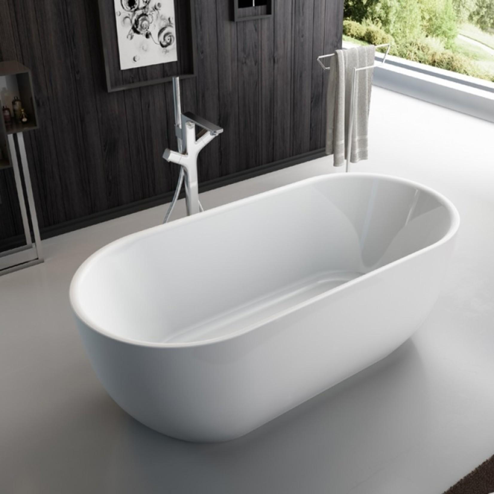 Lily 67 '' Luxury Freestanding Bathtub