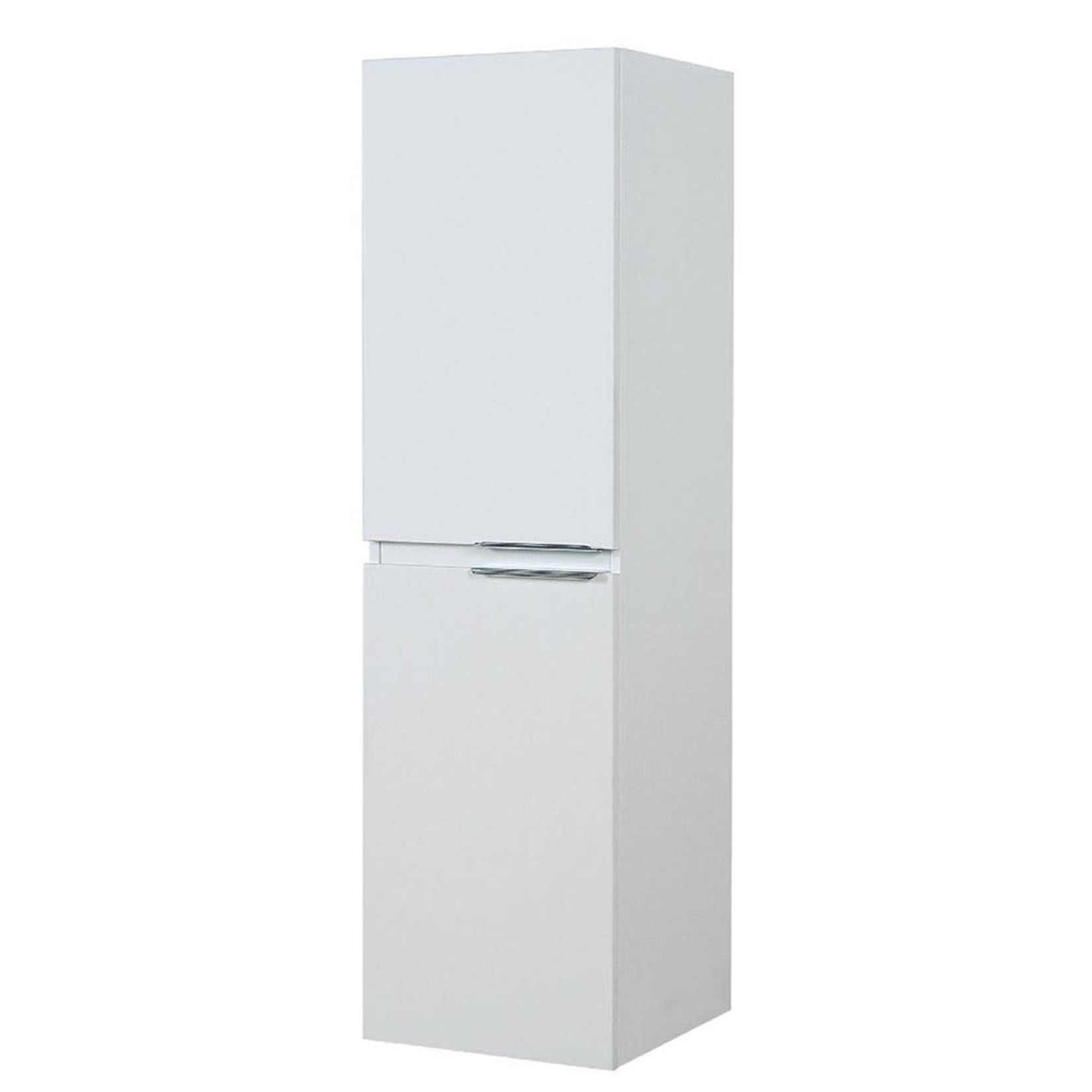 Side Cabinet 16'' white lacquered 1704