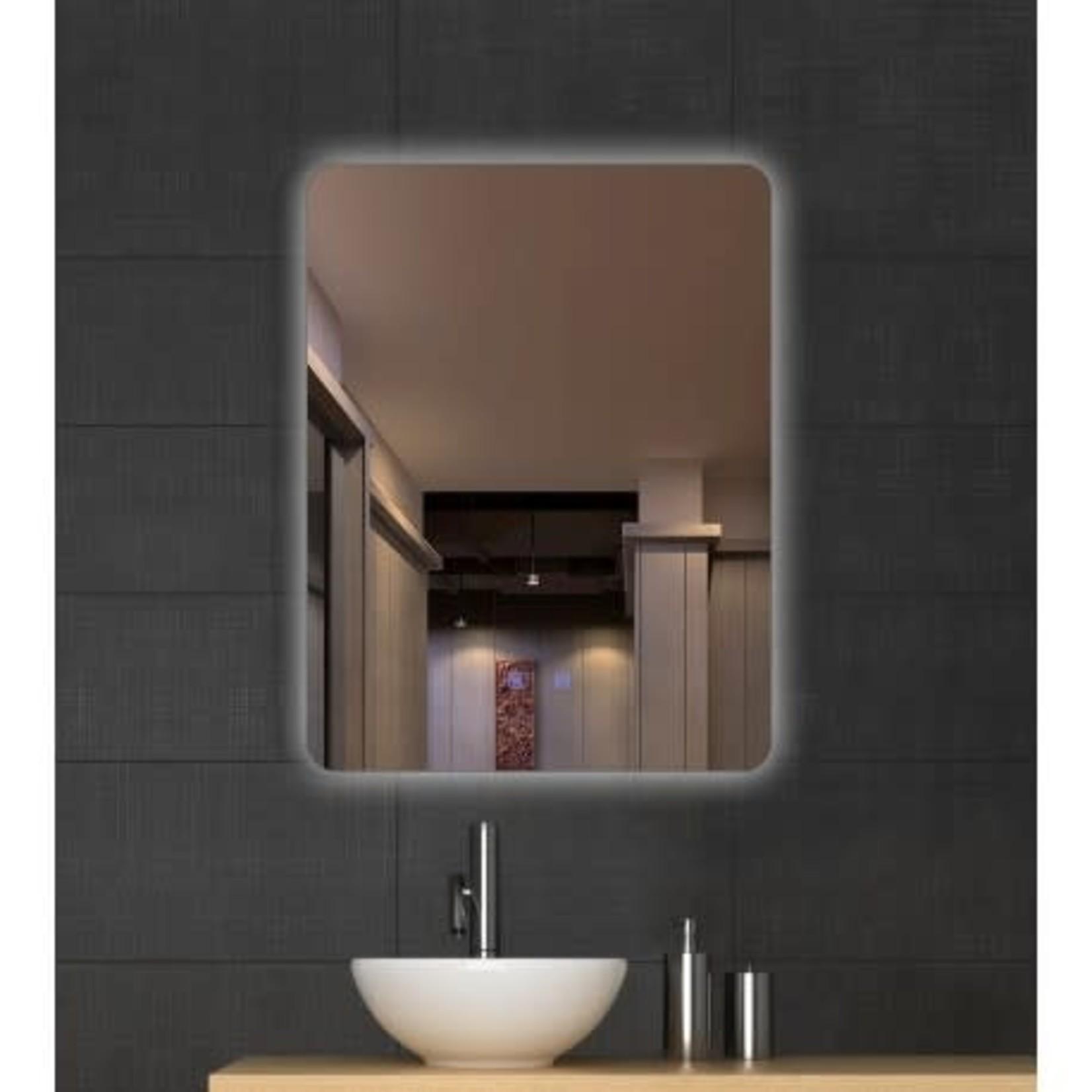Anti-fog LED mirror