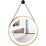 """Miroir LED rond 24"""" Or Nortrends NRD-X-H005B"""