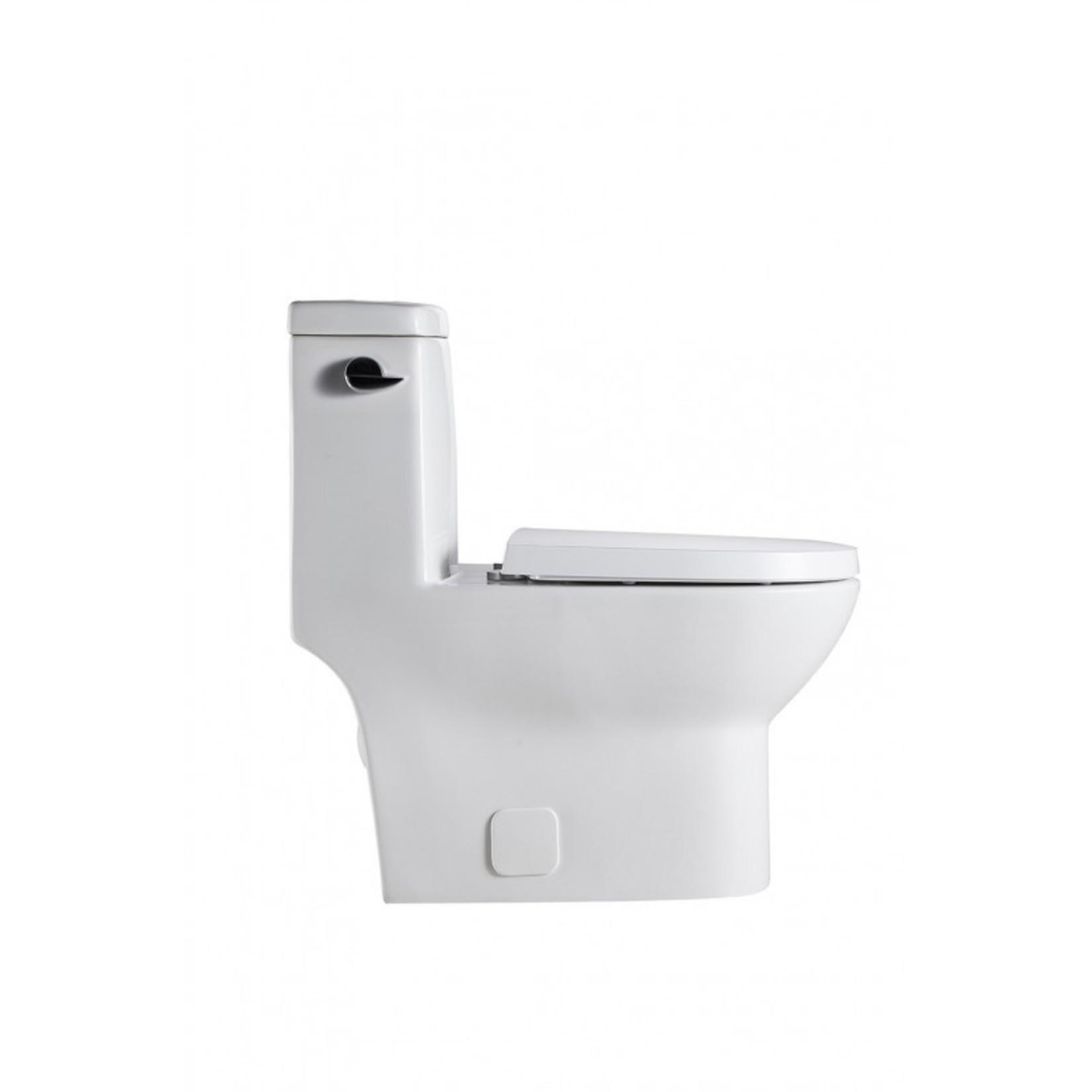One-piece toilet DI-153 side flush