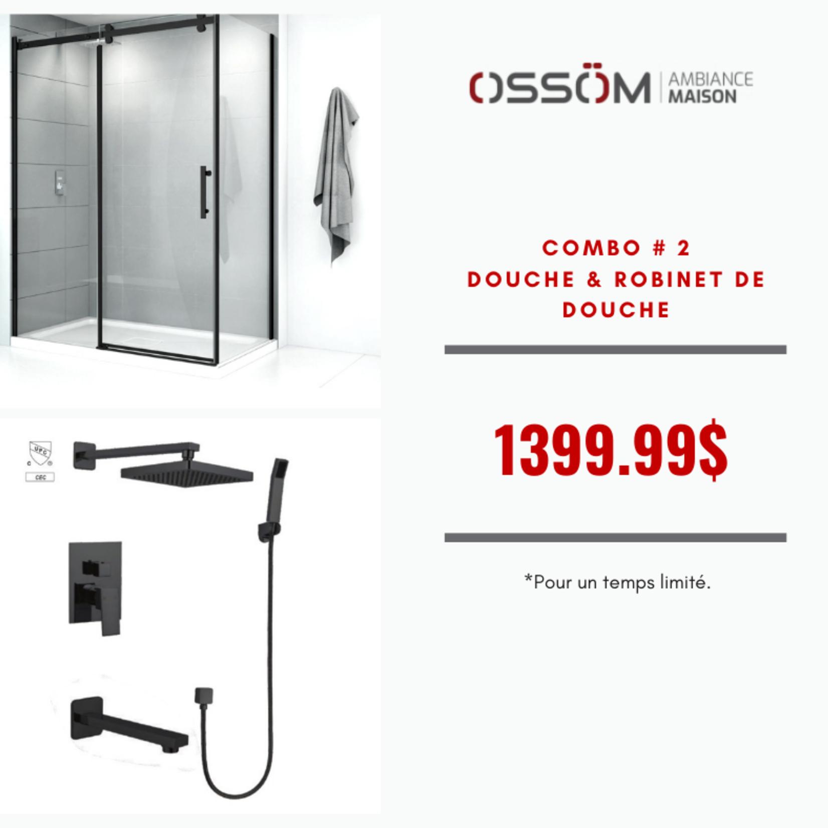 Combo # 2 Promo Shower & Shower Faucet