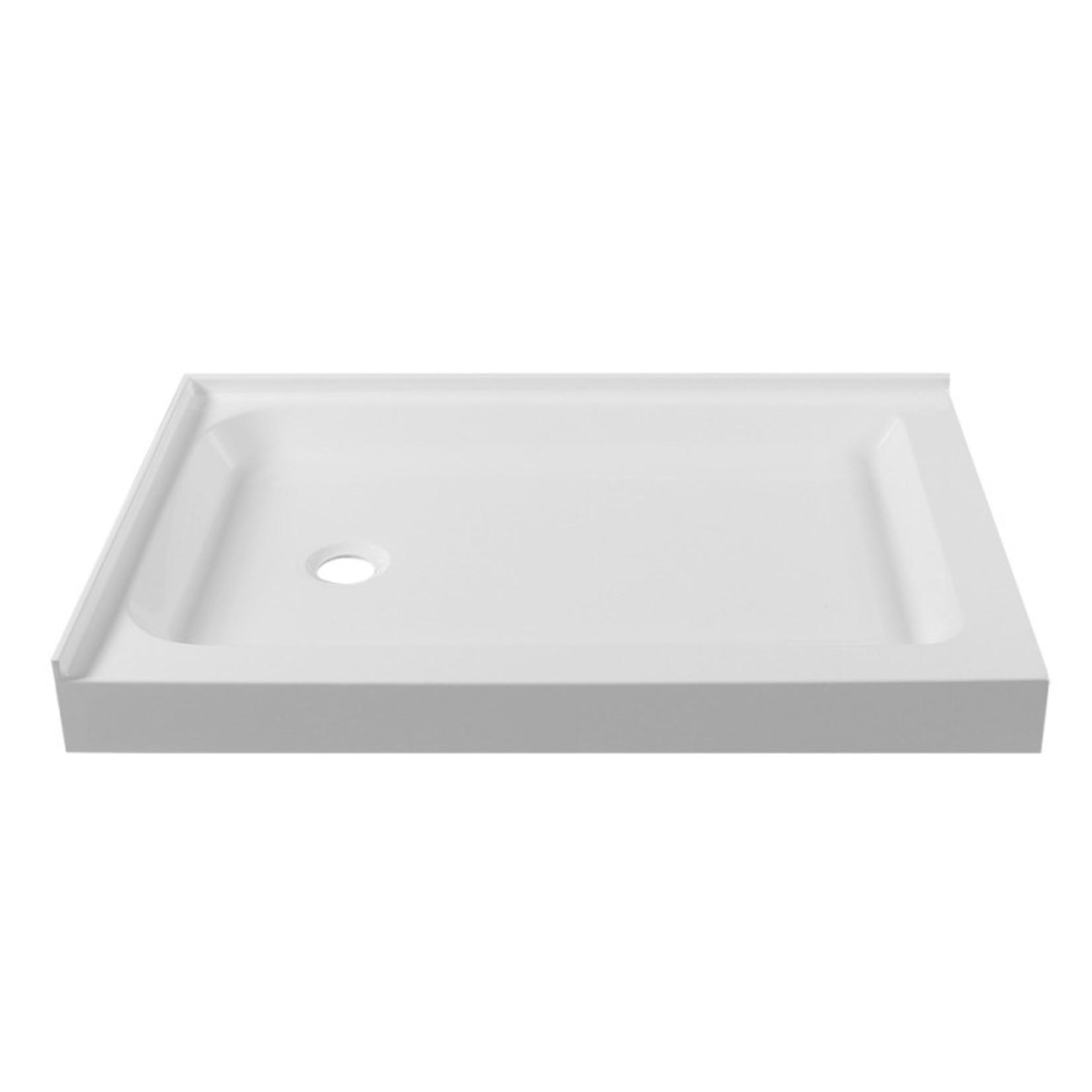 Base de douche 32x60 drain à droite Installation droite Apo DI