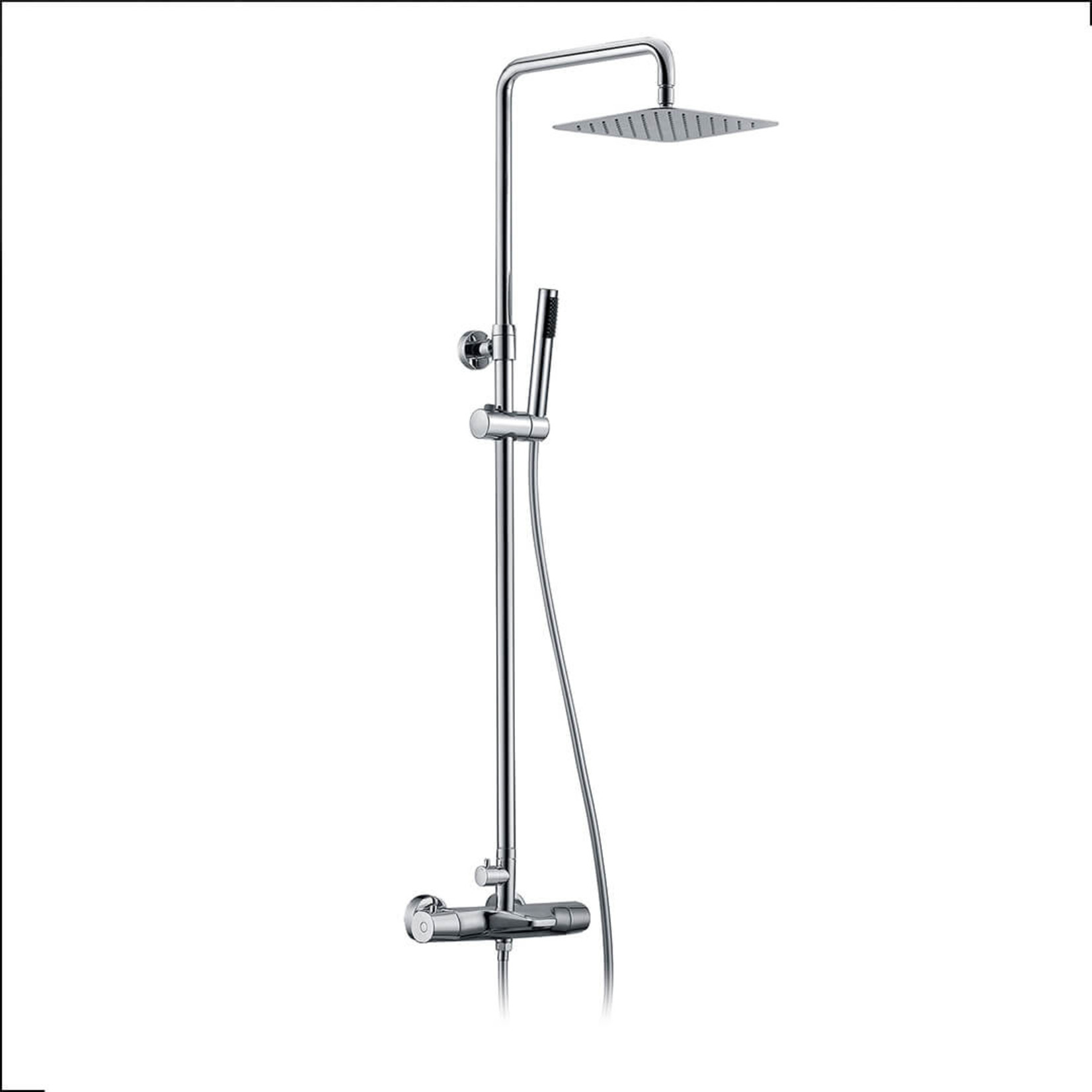 Colonne de douche thermostatique Chrome Série Jacki Jade Bath 8015-10