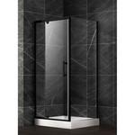 Shower 36x36 Matis black DI-MATIS-BL
