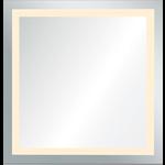 Miroir à éclairage LED intégré RENWIL 42x48