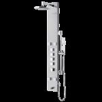 Colonne de douche thermostatique stainless steel Nora Akuaplus - (Boîte ouverte)