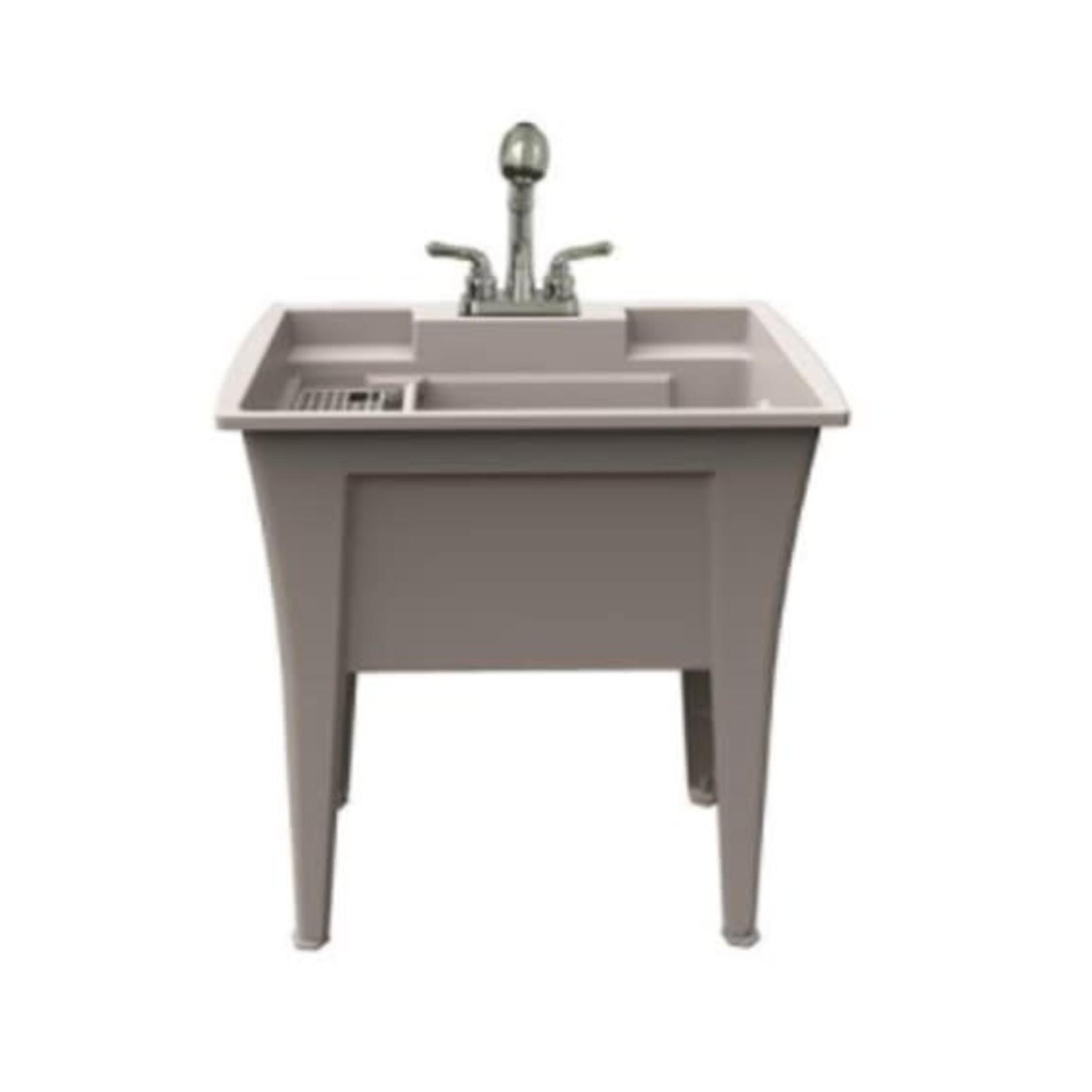 Cuve de lavage 32'' Blanc A&E LT-32-01