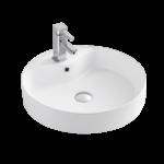 Lavabo semi-encastré en porcelaine Luho GP-0439A