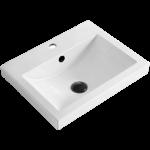 Lavabo encastré en porcelaine Luho GP-0434