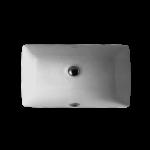 Lavabo sous-plan en porcelaine Luho GP0469