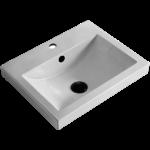 Lavabo encastré en porcelaine Luho GP0434A