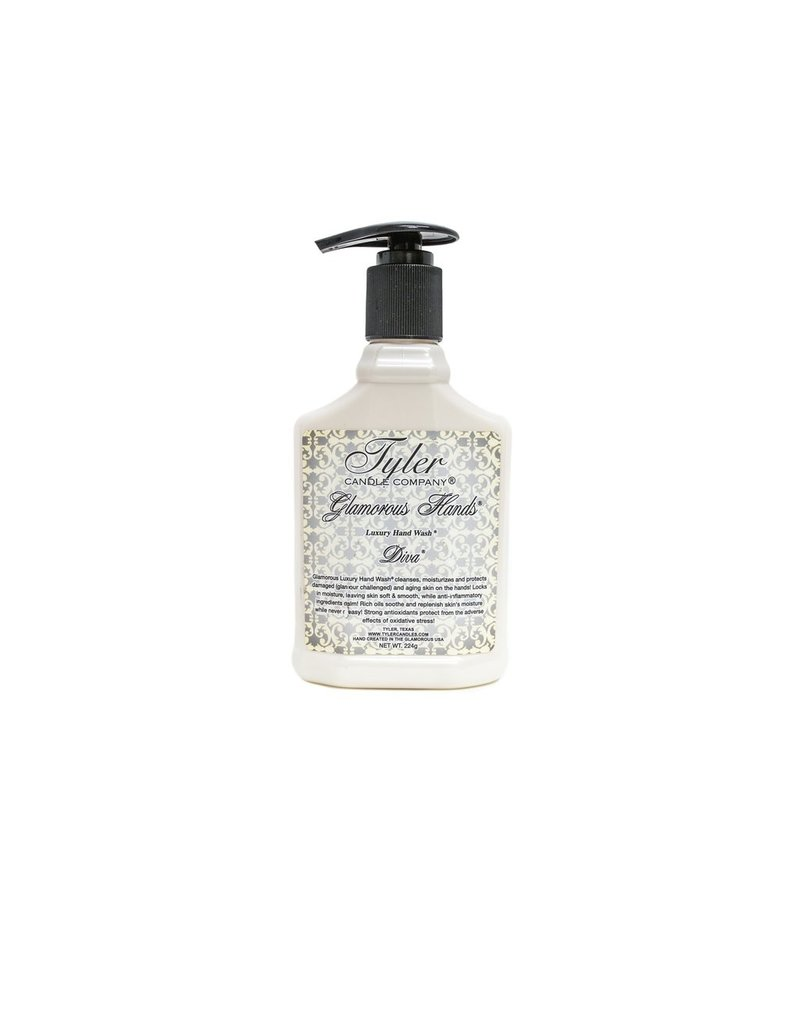 Tyler Candle Company 8 Oz Luxury Hand Wash - Diva