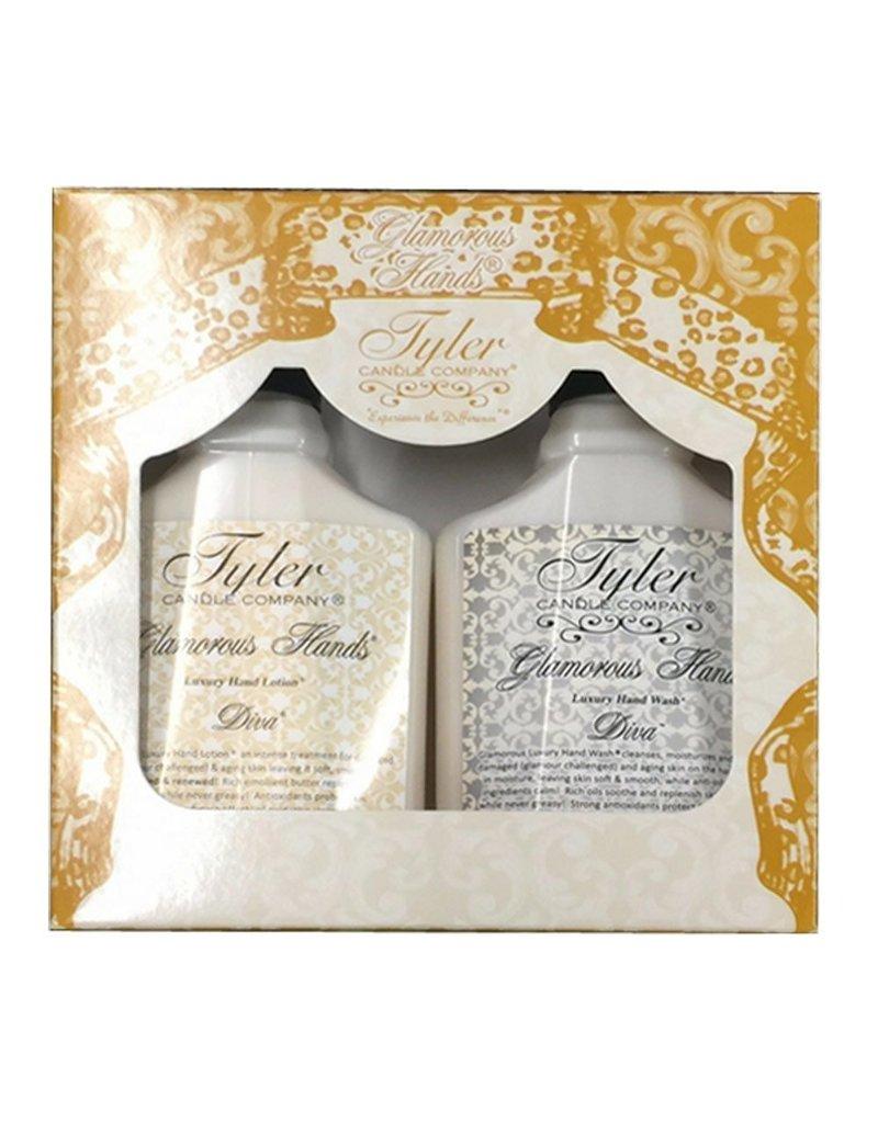 Tyler Candle Company Glamorous Hand Gift Set - Diva