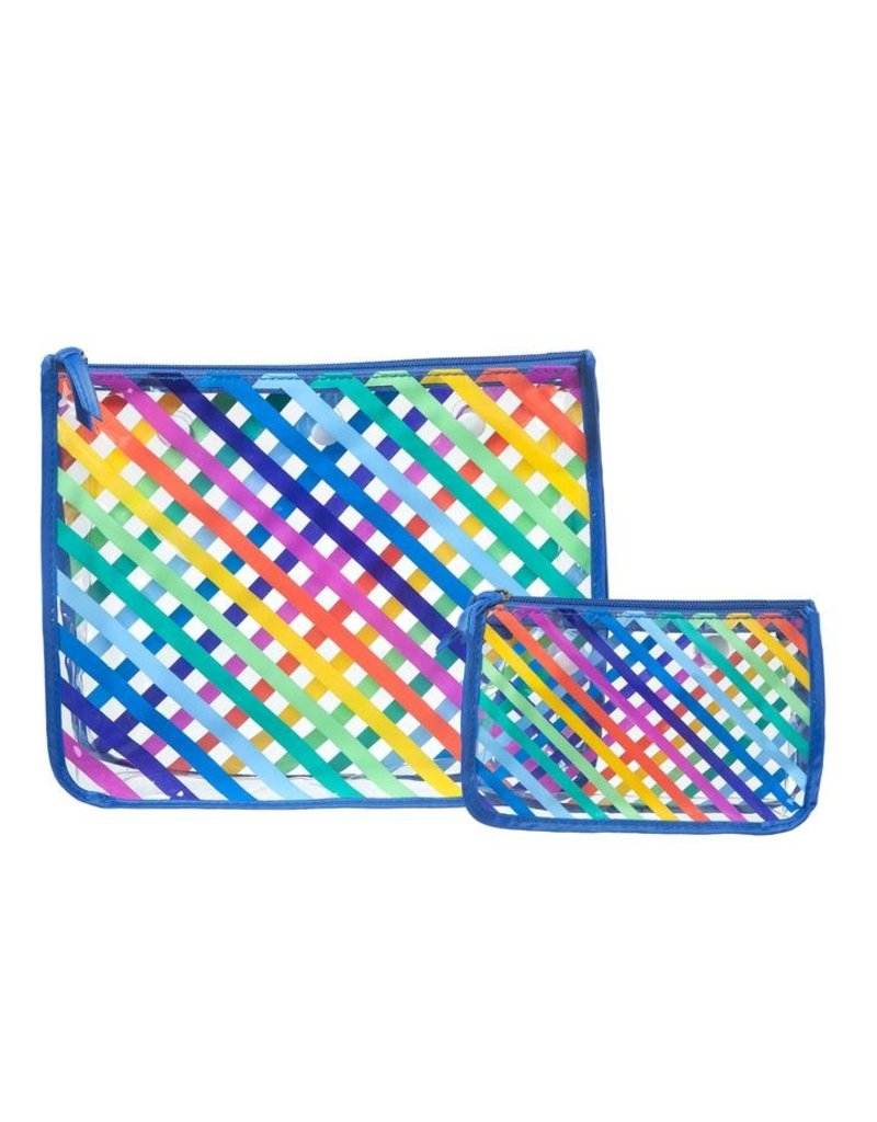 Bogg Bag Insert Bags - Rainbow Stripes