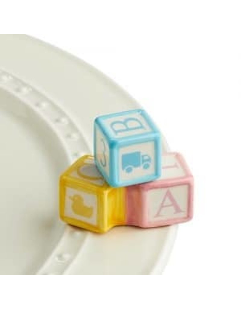 Nora Fleming Baby Blocks Mini