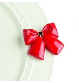 Nora Fleming Red Bow Mini