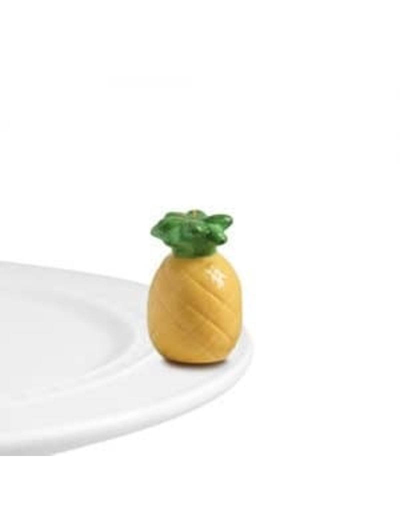 Nora Fleming Pineapple Welcome Friends Mini