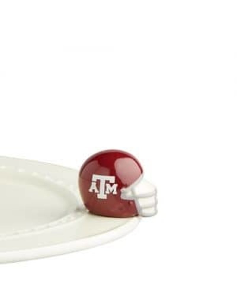 Nora Fleming A&M Helmet Mini