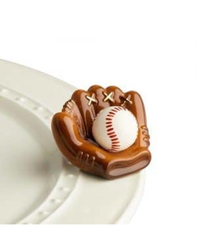 Nora Fleming Baseball Mitt Mini