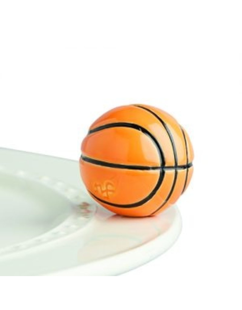 Nora Fleming Hoop There It Is Basketball Mini