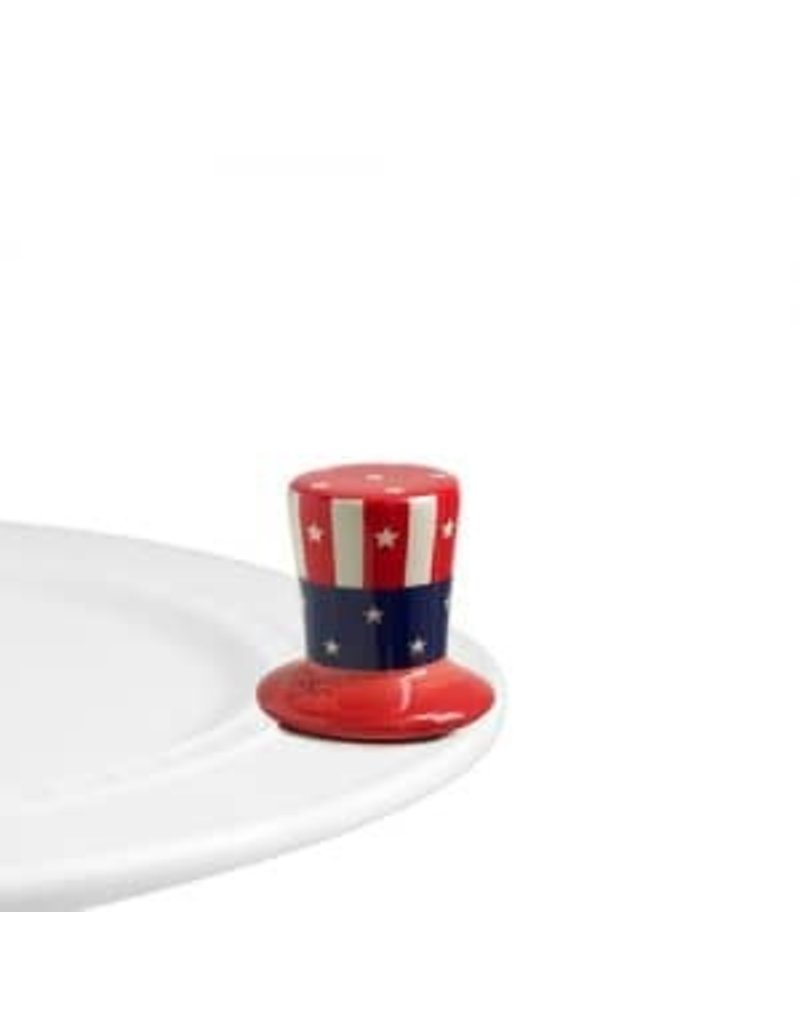 Nora Fleming Uncle Sam Hat Mini