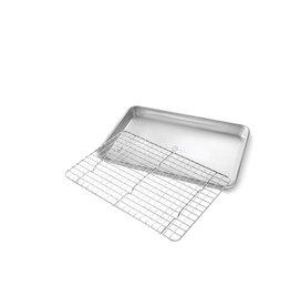 USA Pans Quarter Baking Pan & Rack Set