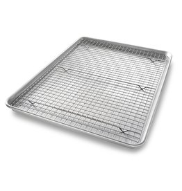 USA Pans XL Baking Pan & Rack Set
