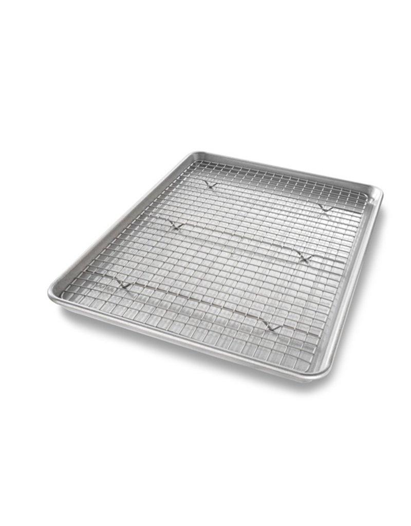 USA Pans Half Sheet with Cooling Rack Set