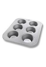 USA Pans 6 Cup Muffin Pan