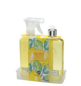 Mangiacotti Lemon Verbena Kitchen Caddy Set
