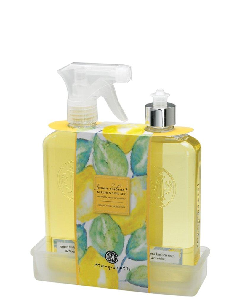 Mangiacotti Lemon Verbena Kitchen Caddy Set