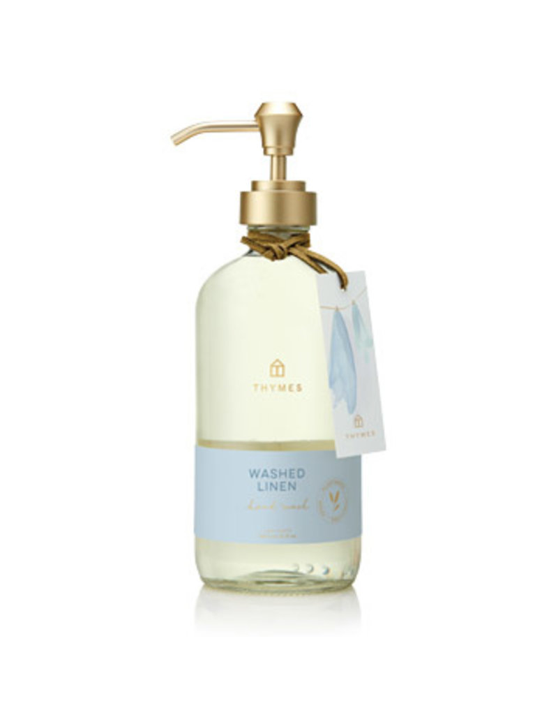 Thymes Washed Linen Large Hand Wash 15oz
