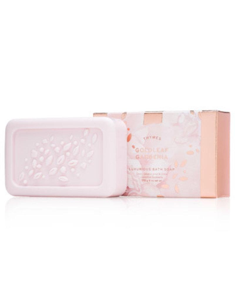 Thymes Goldleaf Gardenia Lux Bath Soap