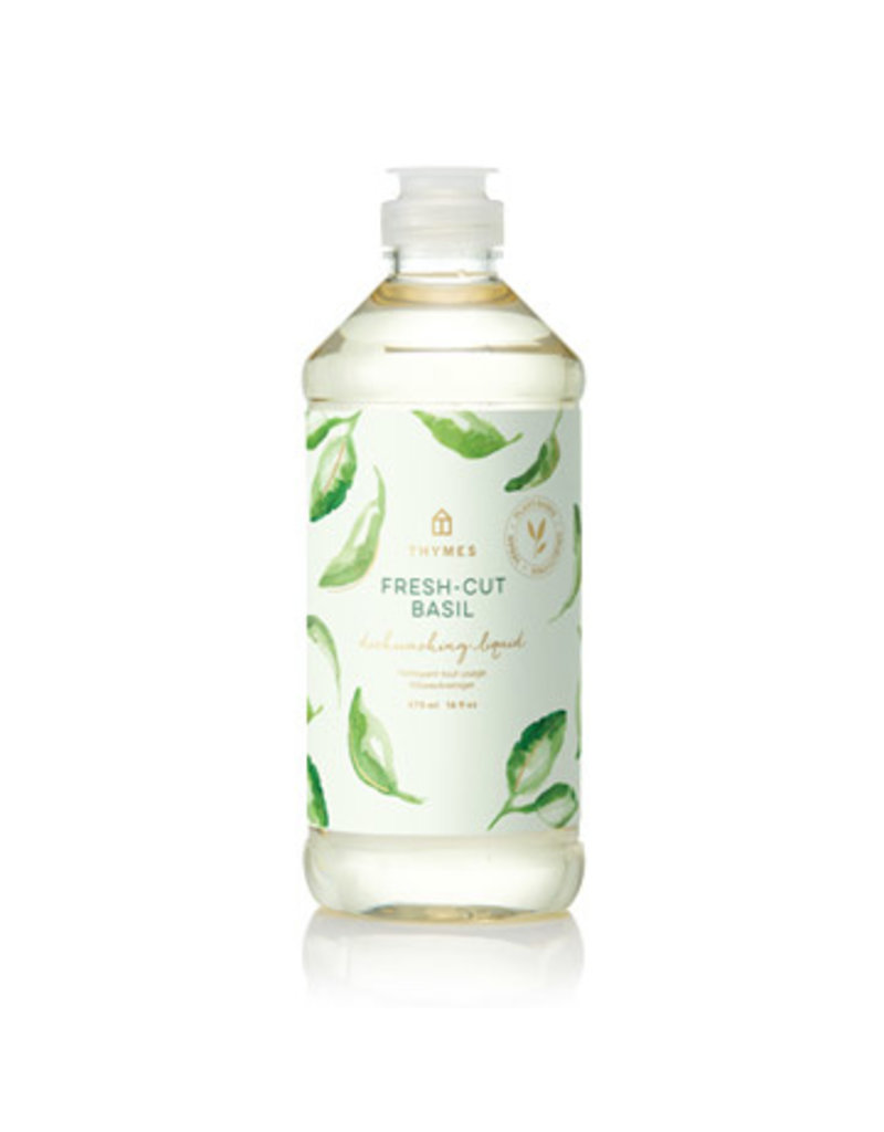 Thymes Fresh-Cut Basil Dishwashing Liquid 16oz