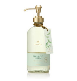 Thymes Fresh-Cut Basil  Large Hand Wash 15oz