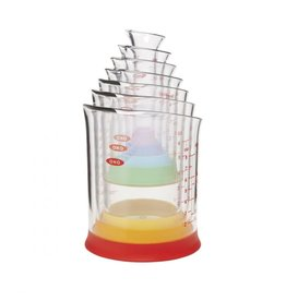 OXO 4 PC Mini Measuring Beaker Set