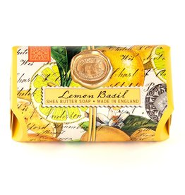 Michel Design Works Lemon Basil Large Bath Soap Bar