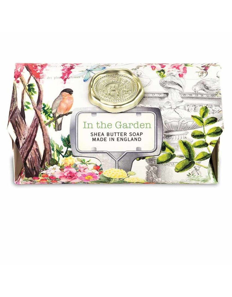 Michel Design Works In The Garden Large Bath Soap Bar