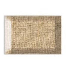 Michel Design Works Burlap Glass Soap Dish